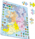Political Map of  Ireland - Frame/Board Jigsaw Puzzle 29cm x 37cm (LRS  K15-GB)